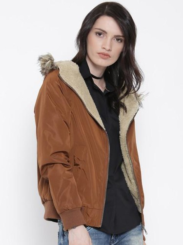 Jacket styles for women - Hooded jacket