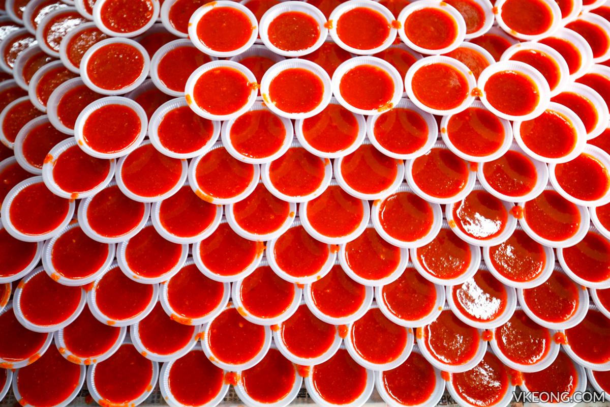 Pasir Pinji Yong Tau Fu Chili Sauce