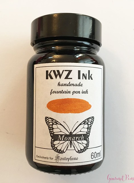 Ink Shot Review KWZI Monarch for @Fontoplum0 10
