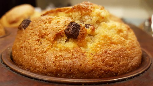 Come and have a yummy chocolate chunk muffin today. It is deeeelicious!