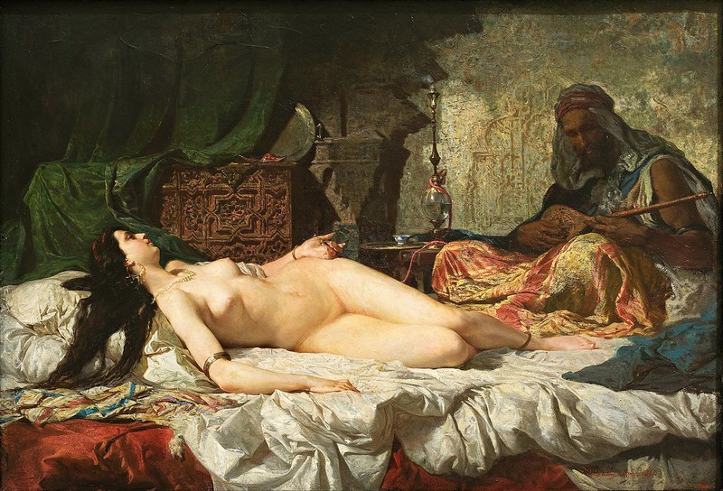 Marià Fortuny - The Odalisque (1861)