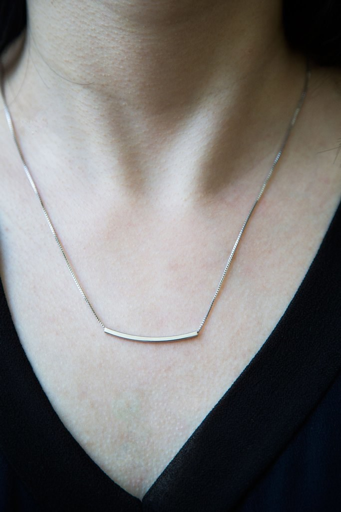 Bar Necklace, christmas gift under $20