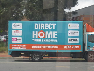 Direct Home Timber Hardware Delivery Truck Ryan Smith