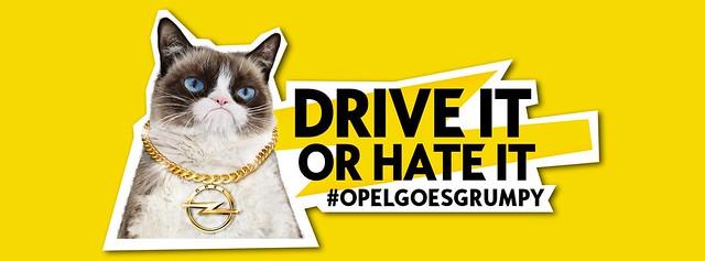#OpelGoesGrumpy