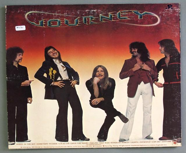 "JOURNEY Infinity 12"" LP VINYL"