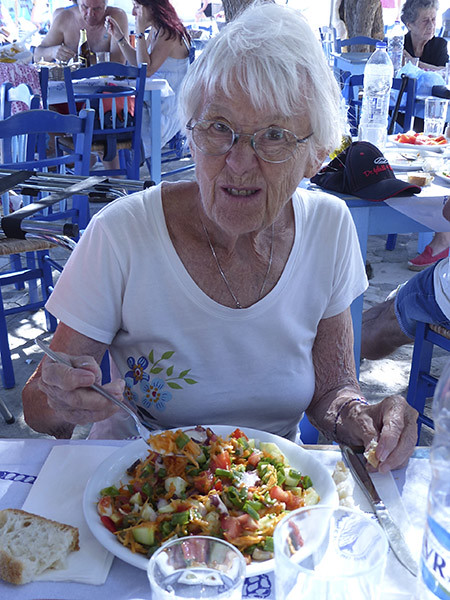 lala et sa salade de poulpes