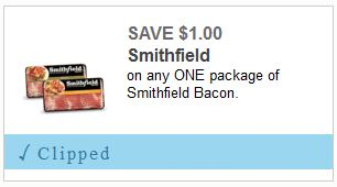 New Smithfield Bacon Coupon