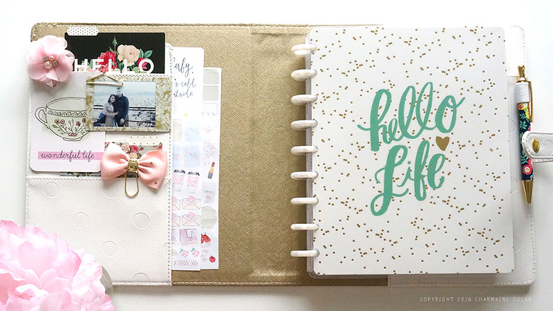 Happy Planner November Set Up