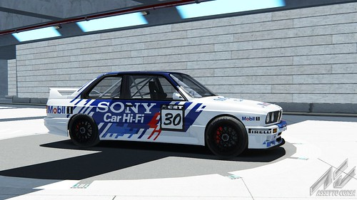 BMW E30 M3 DTM - Equipo Sony BMW - Pep Bassas - CET 1994