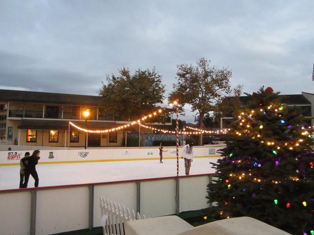 Ice Skating by the Bay at Custom House Plaza