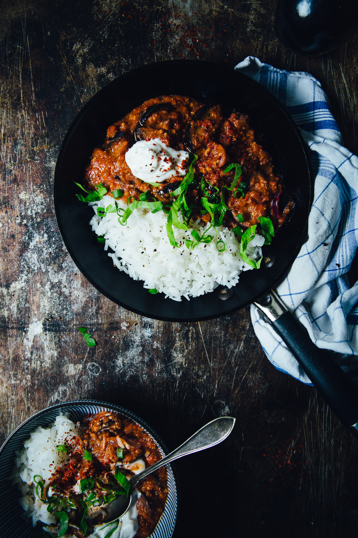 Moroccan Spiced Aubergine in Tomato Sauce | Cashew Kitchen