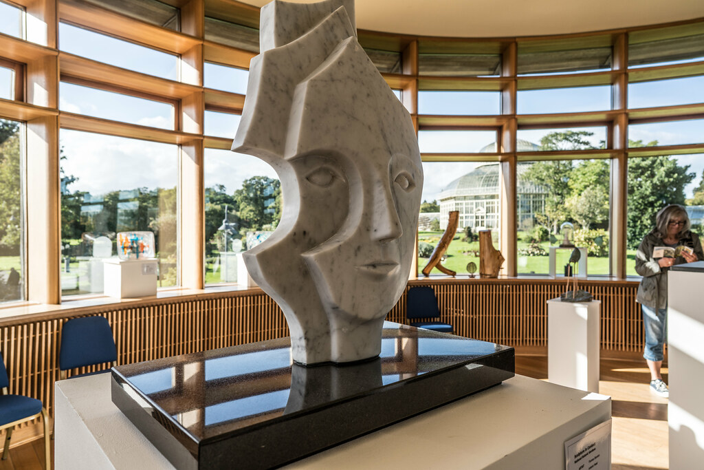 ANTERIOR HEAD BY THOMAS GLENDON [2016 SCULPTURE IN CONTEXT]-123194