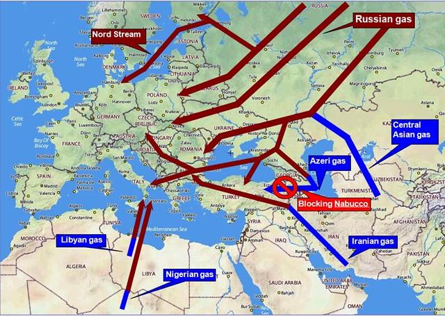 Нигерия хочет дотянуть газопровод до Европы