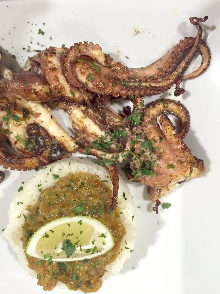 Where to eat Sicily - octopus Ginger Agrigento