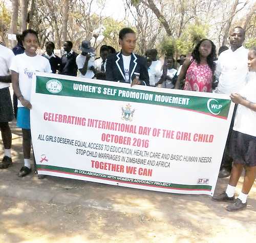 International Day of the Girl Child 2016 - Zimbabwe