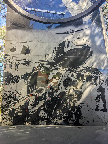 Inside the Vietnam War Memorial