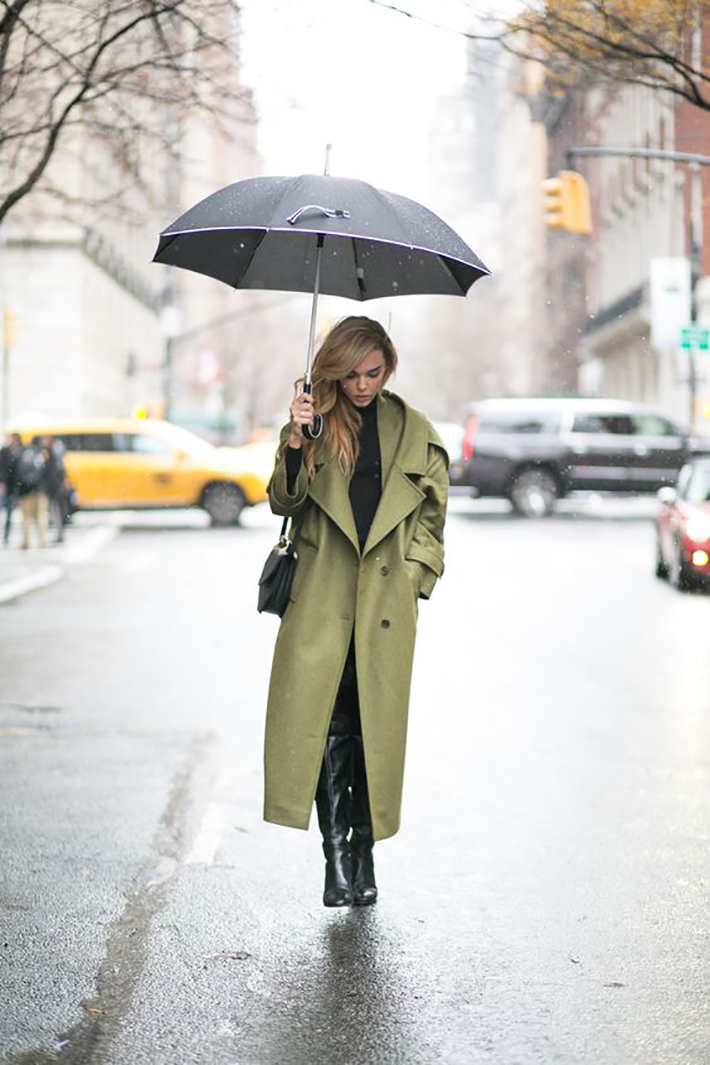 rainy day outfit accessories fall style streetstyle winter style fashion trend6