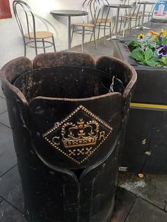 Newark Siege coin rubbish bin2