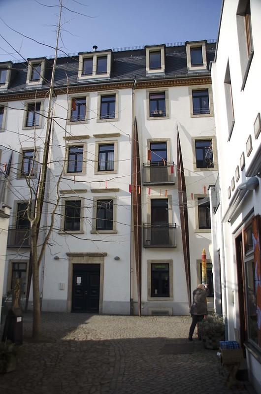 Pátio da Metamorfose (Hof der Metamorphosen), Kunsthofpassage