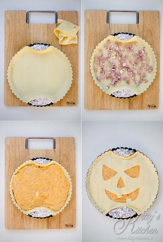Torta rustica alla zucca di halloween 2