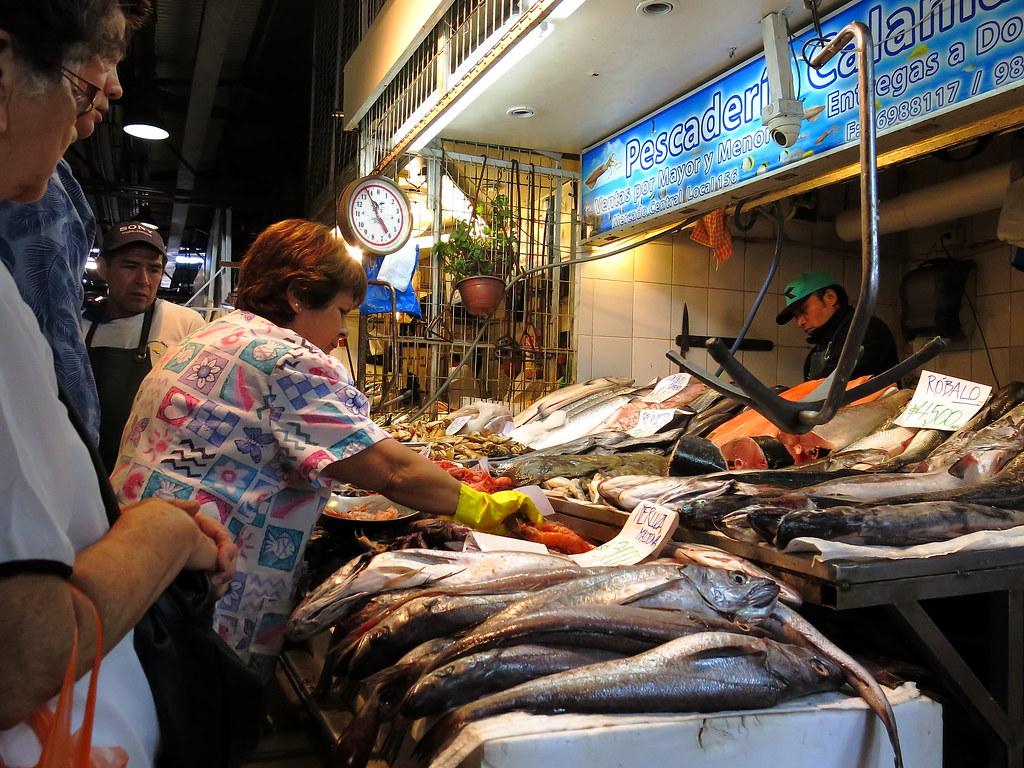 Pescadería (Mercado Central)
