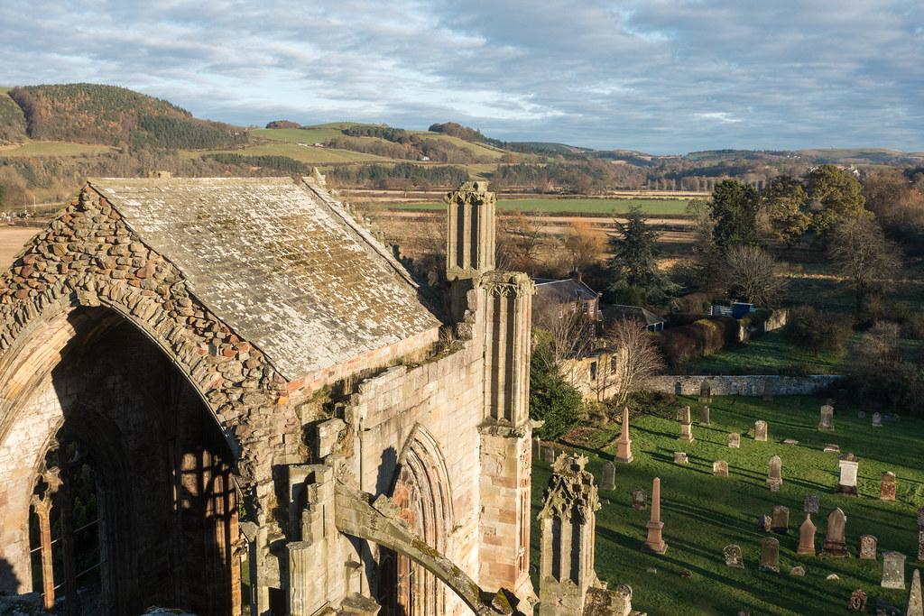 Melrose Abbey-03674