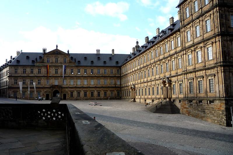 La nueva residencia en Bamberg.