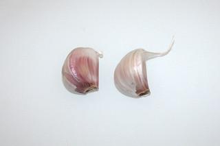 05 - Zutat Knoblauchzehen / Ingredient garlic