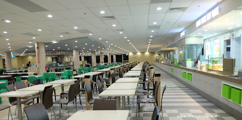 staff canteen changi airport T2 4