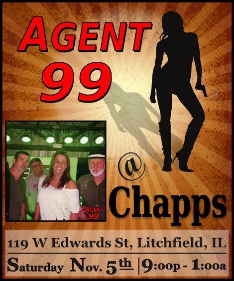 Agent 99 11-5-16