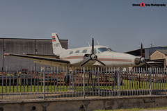 I-BUTY - 31P-32 - Private - Piper PA-31P-425 Pressurized Navajo - Gambini SRL Scrapyard, Cavalcaselle, Italy - 160624 - Steven Gray - IMG_4967_HDR