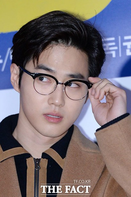 161123 D.O and Suho at 'Hyung' Movie VIP Premiere