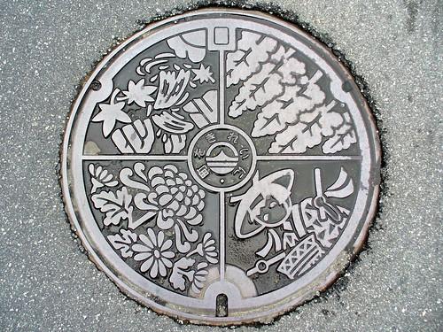 Ichinomiya Hyogo, manhole cover (兵庫県一宮町のマンホール)