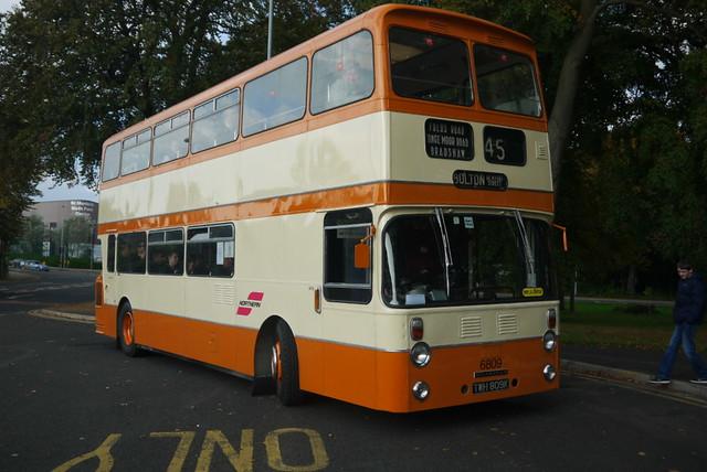 Bolton Leyland Atlantean 6809, The Woodthorpe