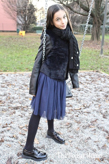outfit bambina francesine