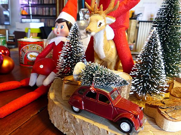 voiture de Noël 1