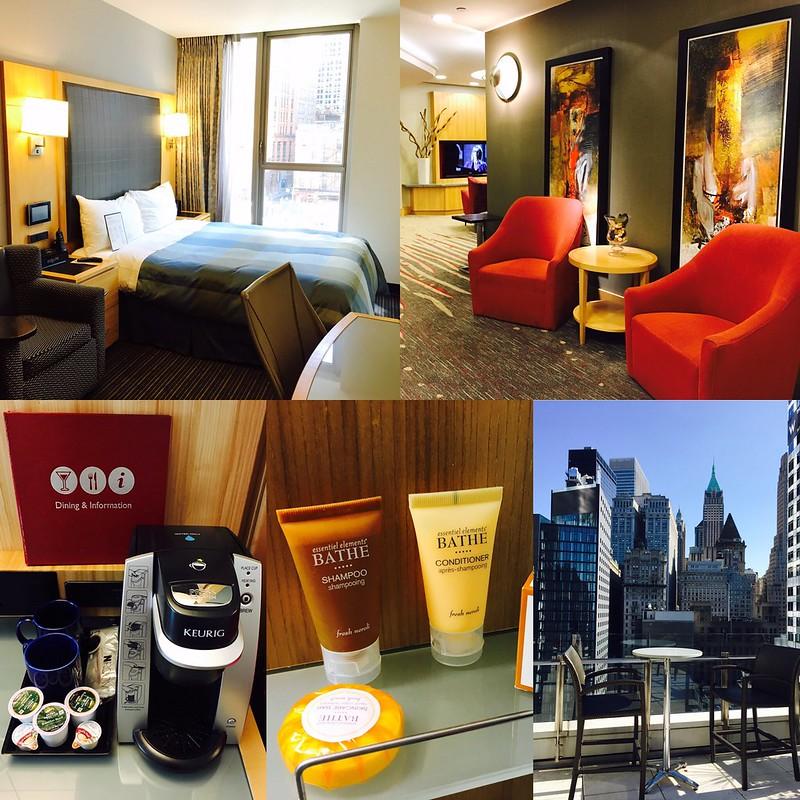【紐約住宿推薦】近紐約華爾街/世貿中心四星飯店住宿 – New York Club Quarters Hotel World Trade Center
