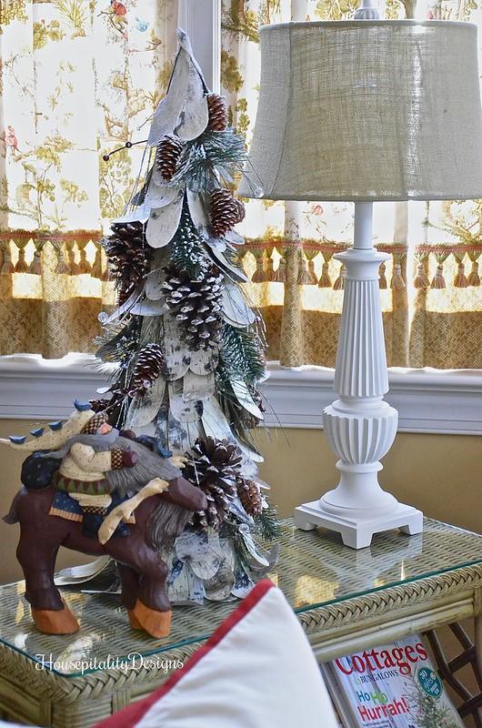 Woodland Tree - Santa on Moose - Housepitality Designs