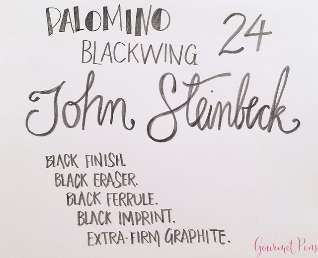 Review @Palomino @Blackwing Volume 24 Pencil @PencilsCom 9