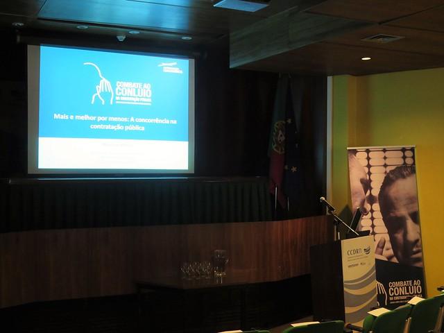 Sessão Porto | Combate ao Conluio na Contratação Pública | 23 de setembro de 2016