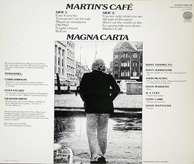 MAGNA CARTA MARTIN'S CAFE