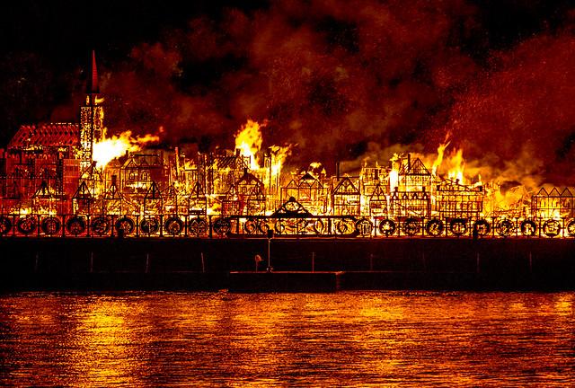 Fire 350 London
