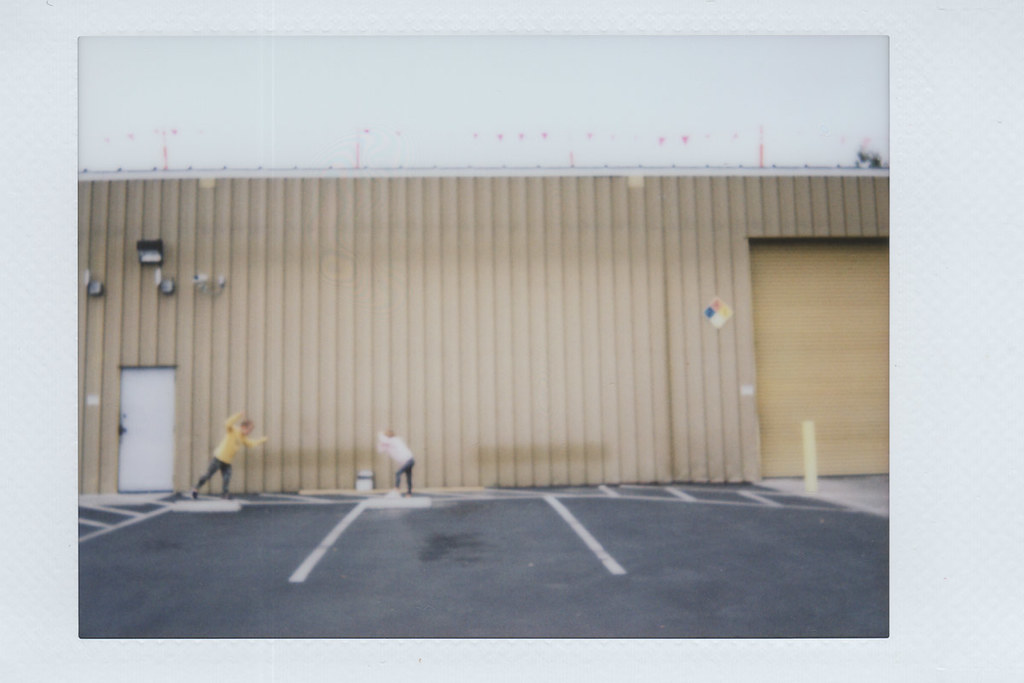 FocusInPhotography - Parking Lot Poalaroid