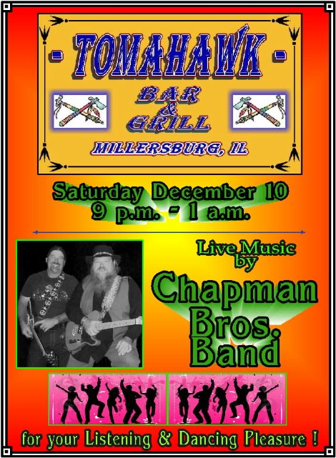 Chapman Bros 12-10-16