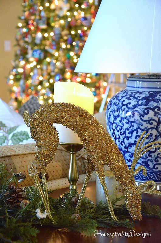 Gold Deer-Christmas-Christmas Tree-Housepitality Designs
