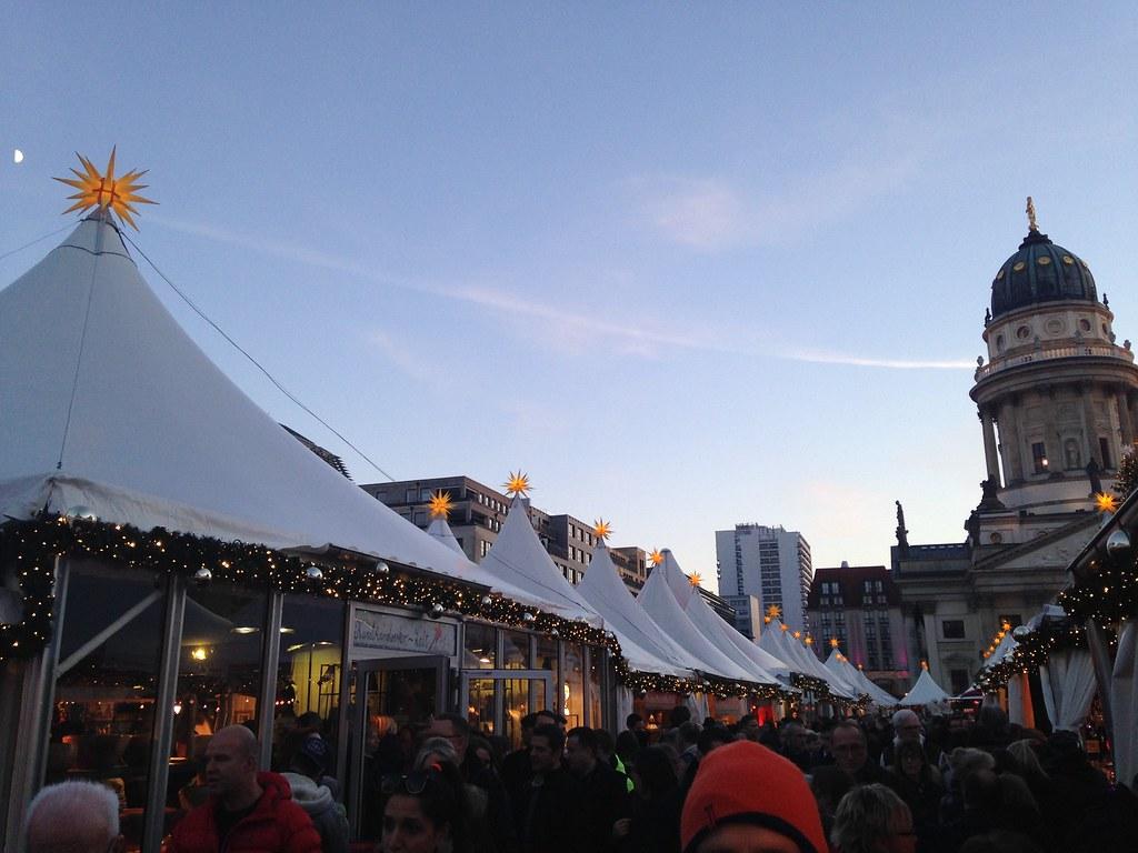Gendarmen tents, German Christmas Markets