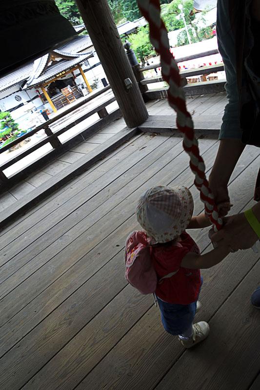 富士川町 あじさい寺、妙法寺 鐘楼