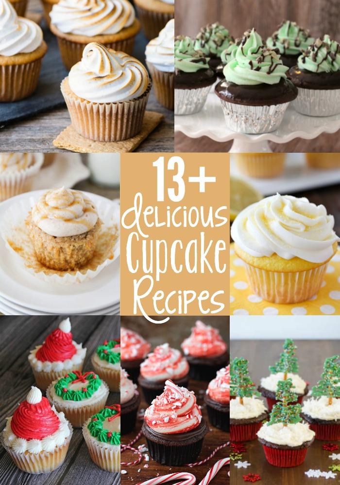 13 delicious cupcakes