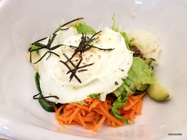 Bibimbap close-up