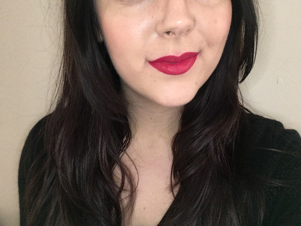 MUA Luxe Velvet Lip Laquer Moxie